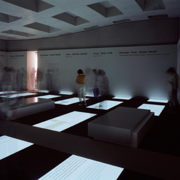 ausstellung ort der information museumsportal berlin. Black Bedroom Furniture Sets. Home Design Ideas