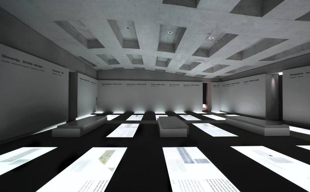 mus e le m morial aux juifs assassin s d europe centre d 39 information museumsportal berlin. Black Bedroom Furniture Sets. Home Design Ideas
