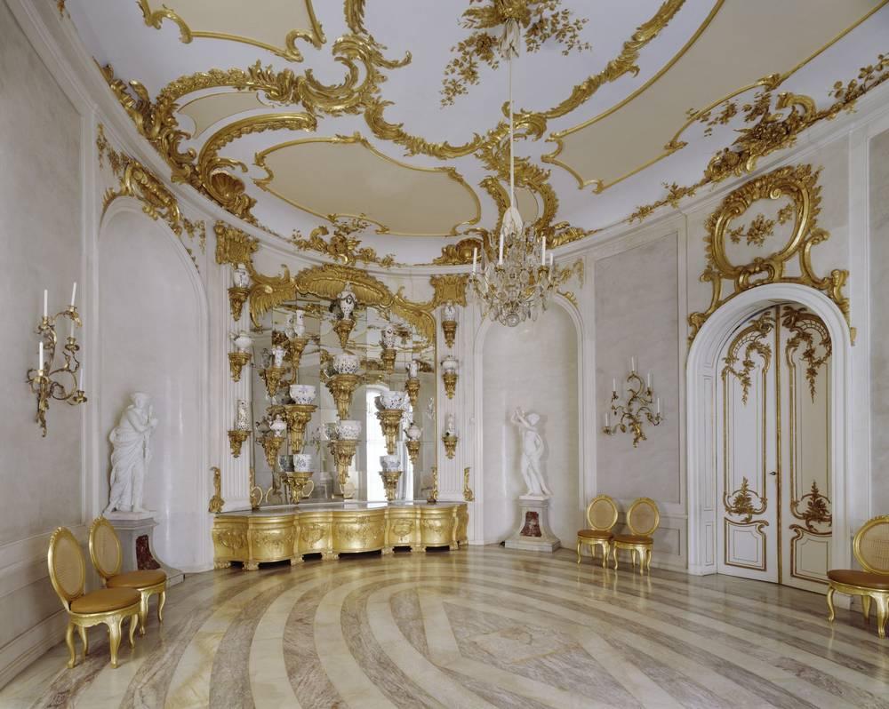 Museum New Chambers Sanssouci Palace Museumsportal Berlin