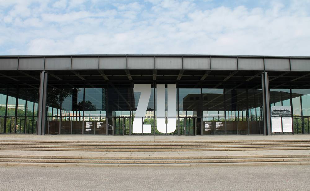 Museum Neue Nationalgalerie Museumsportal Berlin
