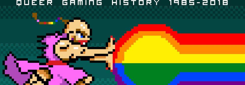 Fuhrung RAINBOW ARCADE Queere Videospielgeschichte 1985 2018 Englisch